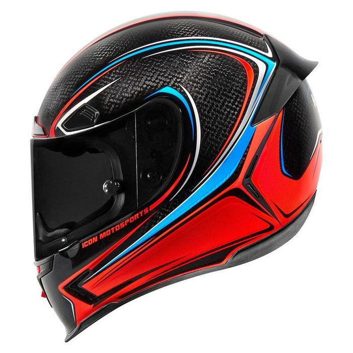 Icon Airframe Pro Halo Helmets Motorcycle Helmets Icon Carbon XS