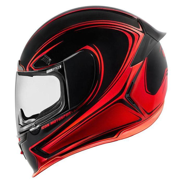 Icon Airframe Pro Halo Helmets Motorcycle Helmets Icon Red XS