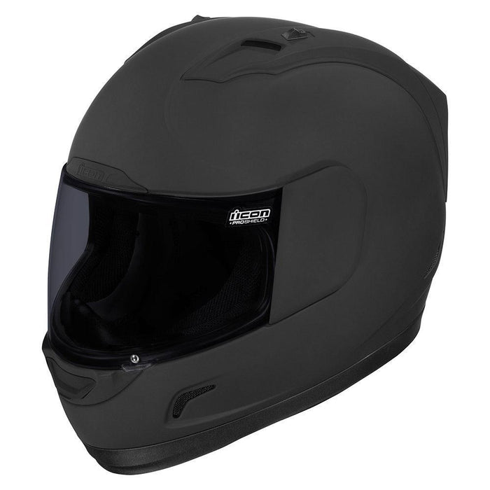 Icon Alliance Dark Helmet Motorcycle Helmets Icon