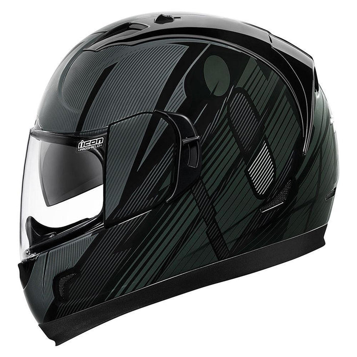 Icon Alliance GT Primary Helmets Motorcycle Helmets Icon Black XS