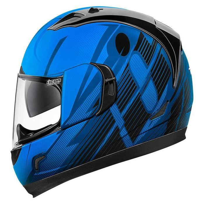 Icon Alliance GT Primary Helmets Motorcycle Helmets Icon Blue XS