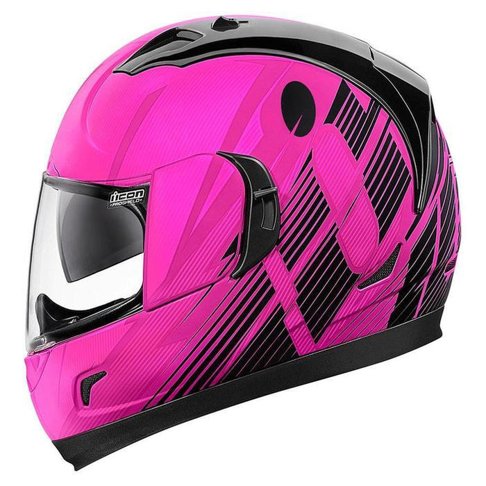 Icon Alliance GT Primary Helmets Motorcycle Helmets Icon Pink XS