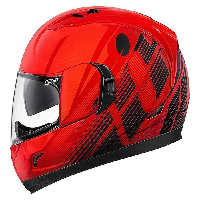 Icon Alliance GT Primary Helmets Motorcycle Helmets Icon Red XS
