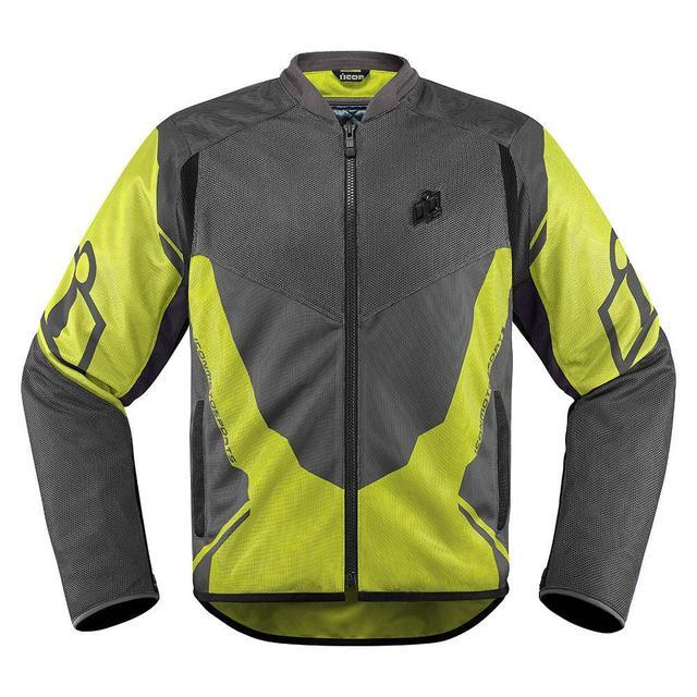 Icon Anthem 2 Jackets Men's Motorcycle Jackets Icon Hi Viz S
