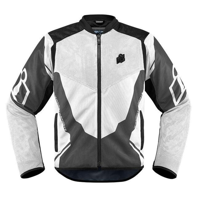 Icon Anthem 2 Jackets Men's Motorcycle Jackets Icon White S