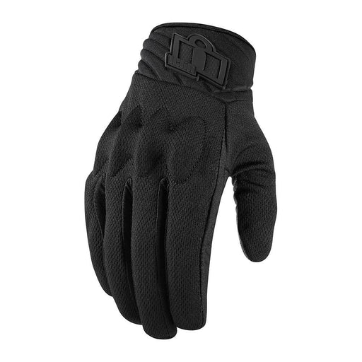 Icon Anthem 2 Touchscreen Stealth Gloves Men's Motorcycle Gloves Icon