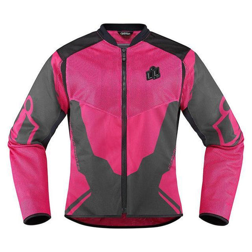 Icon Anthem 2 Women's Jackets Women's Motorcycle Jackets Icon Pink XS