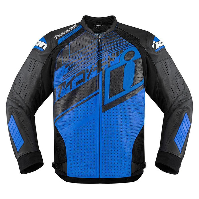 Icon Hypersport Prime Hero Jackets Men's Motorcycle Jackets Icon Blue S