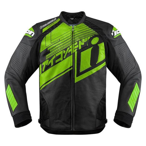 Icon Hypersport Prime Hero Jackets Men's Motorcycle Jackets Icon Green S