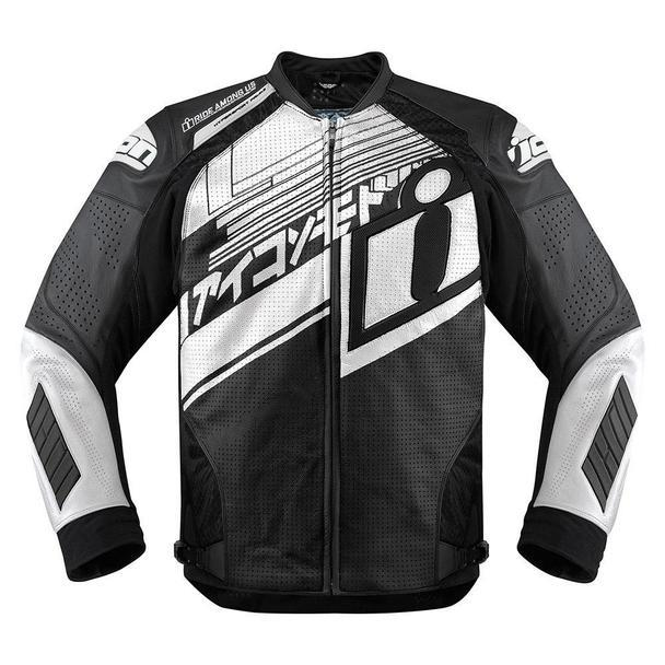 Icon Hypersport Prime Hero Jackets Men's Motorcycle Jackets Icon White S