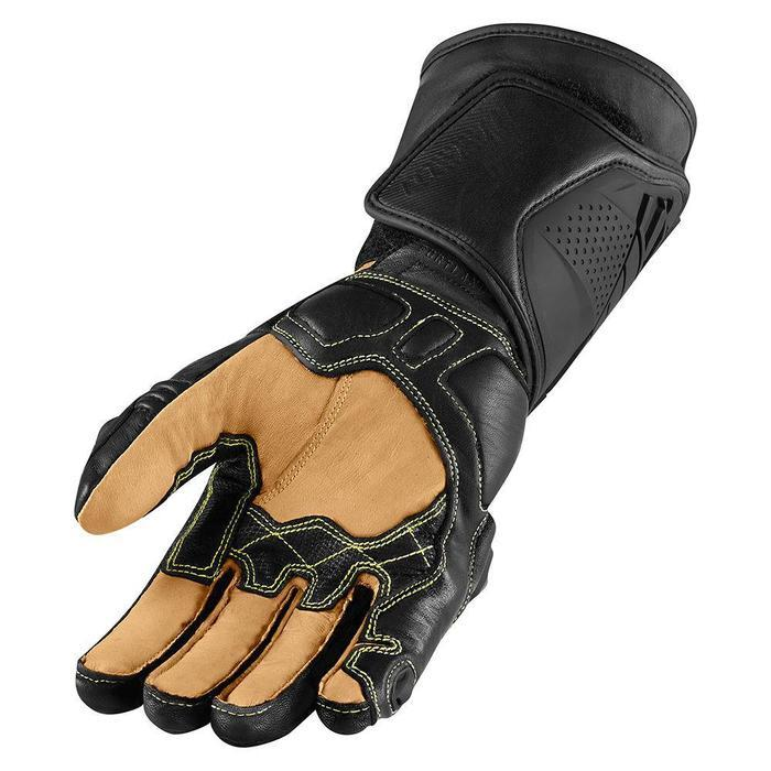 Icon Hypersport Pro Long Gloves Men's Motorcycle Gloves Icon