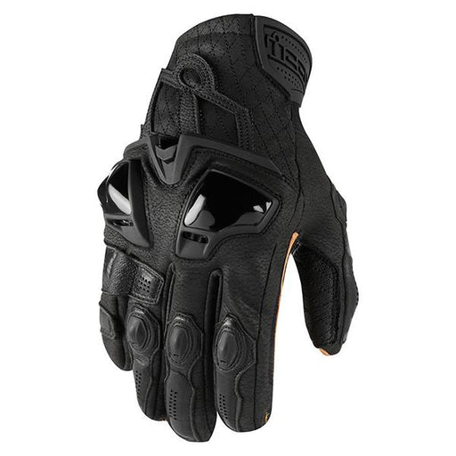 Icon Hypersport Short Gloves Men's Motorcycle Gloves Icon Black S