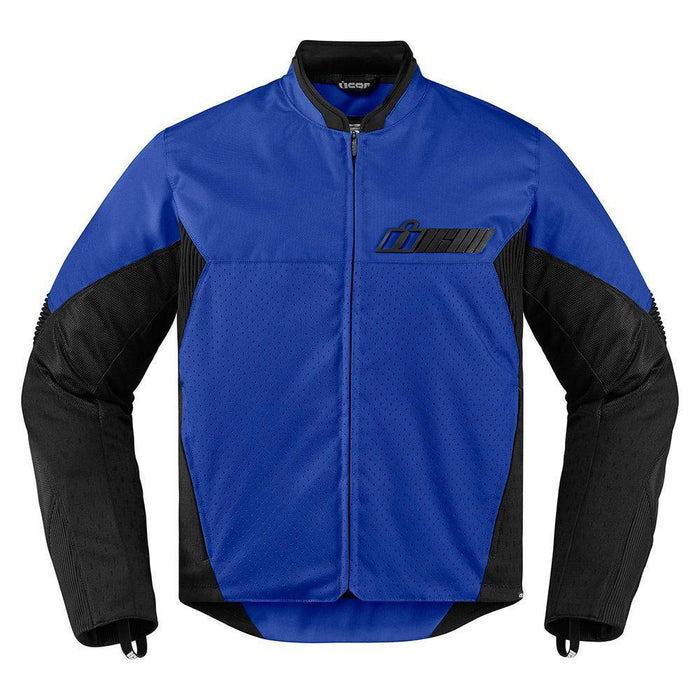 Icon Konflict Jackets Men's Motorcycle Jackets Icon Blue S