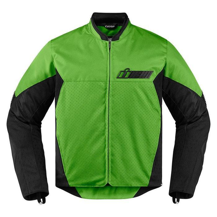Icon Konflict Jackets Men's Motorcycle Jackets Icon Green S