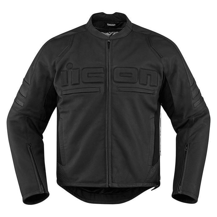 Icon Motorhead 2 Leather Jackets Men's Motorcycle Jackets Icon Stealth S