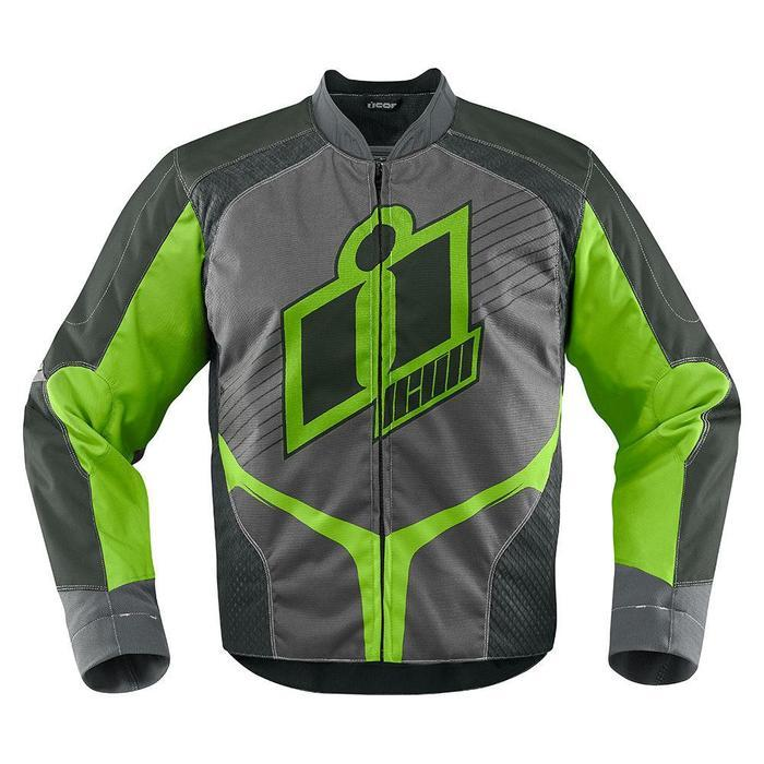 Icon Overlord Jackets Men's Motorcycle Jackets Icon Green S