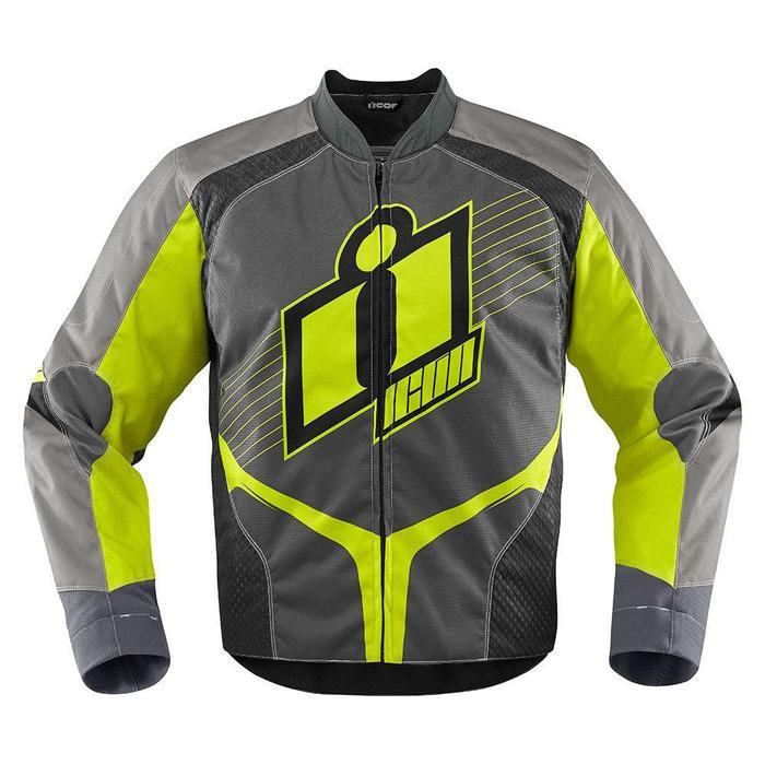 Icon Overlord Jackets Men's Motorcycle Jackets Icon Hi-Viz S