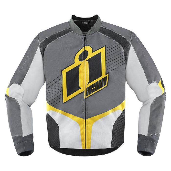 Icon Overlord Jackets Men's Motorcycle Jackets Icon Yellow S