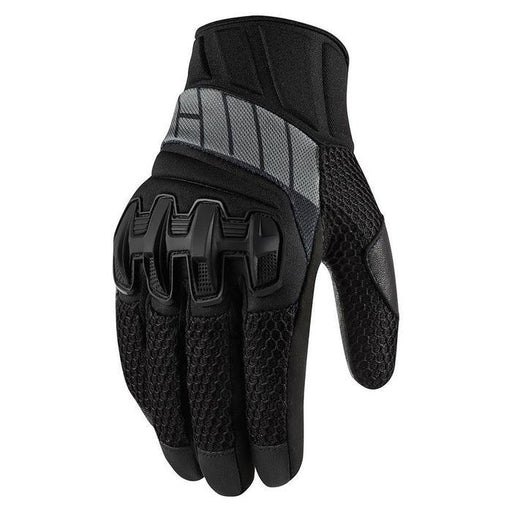 Icon Overlord Mesh Gloves Men's Motorcycle Gloves Icon Black XS