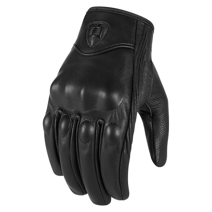 Icon Pursuit Touchscreen Non-Perforated Gloves Men's Motorcycle Gloves Icon