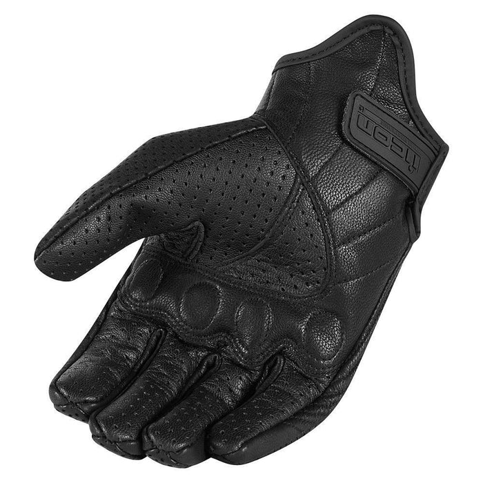 Icon Pursuit Women's Glove in Black Women's Motorcycle Gloves Icon