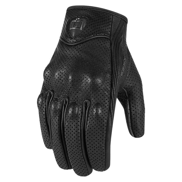 Icon Pursuit Women's Glove in Black Women's Motorcycle Gloves Icon Black S