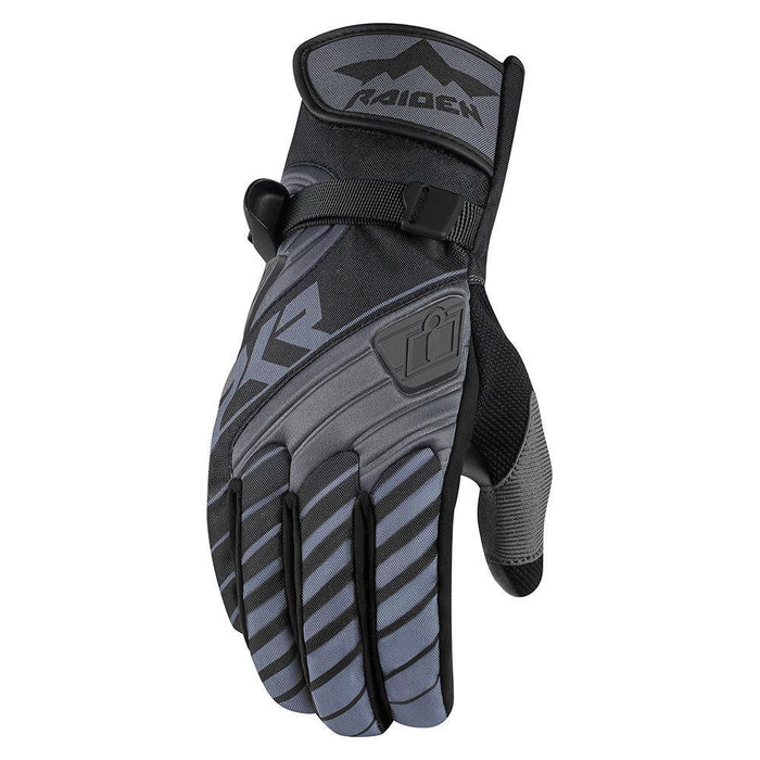 Icon Raiden DKR Gloves Men's Motorcycle Gloves Icon Black S