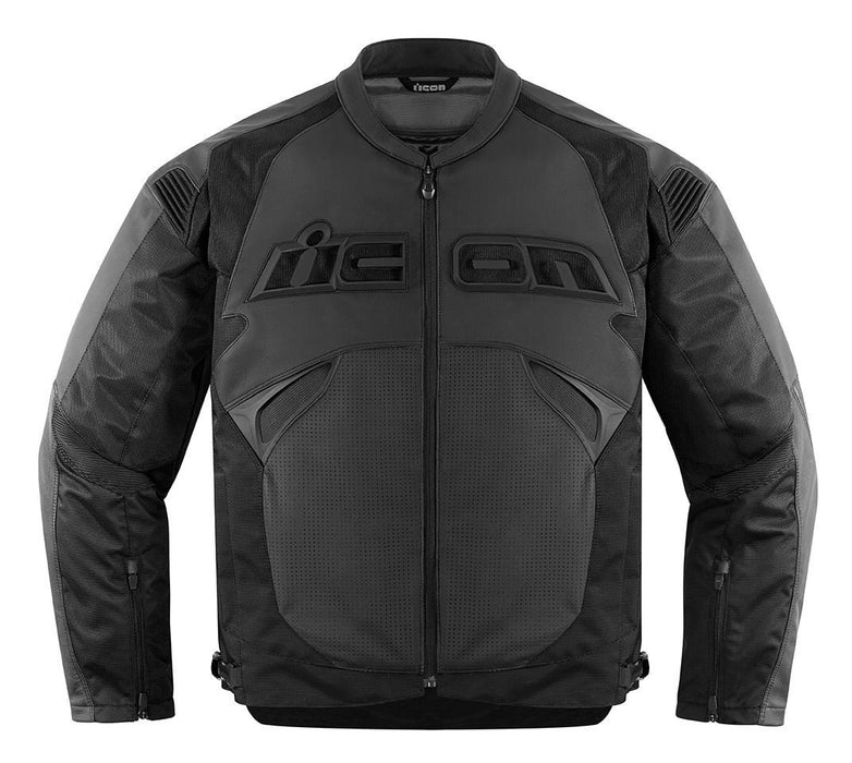 Icon Sanctuary Leather Jackets Men's Motorcycle Jackets Icon Stealth S