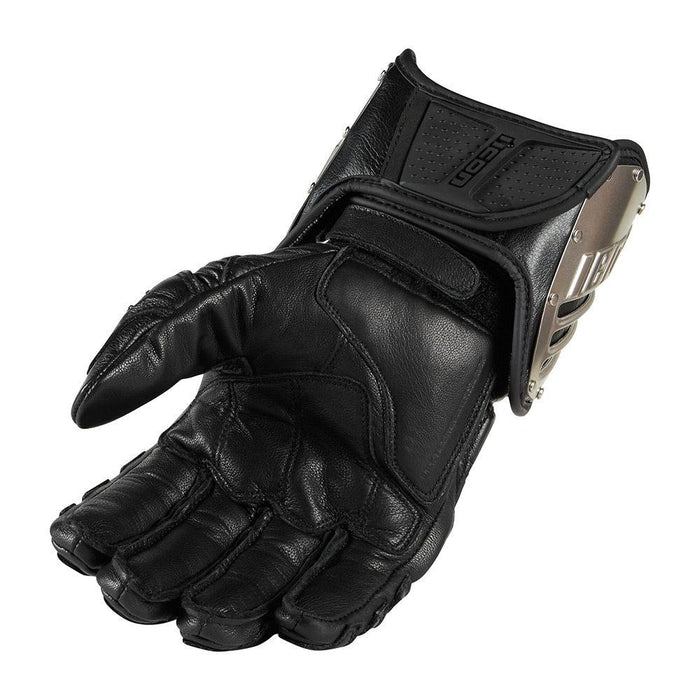 Icon TiMax Long Glove Men's Motorcycle Gloves Icon