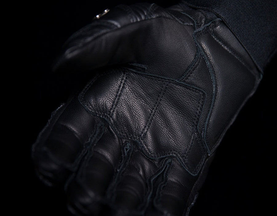 Icon TiMax Short Glove Men's Motorcycle Gloves Icon