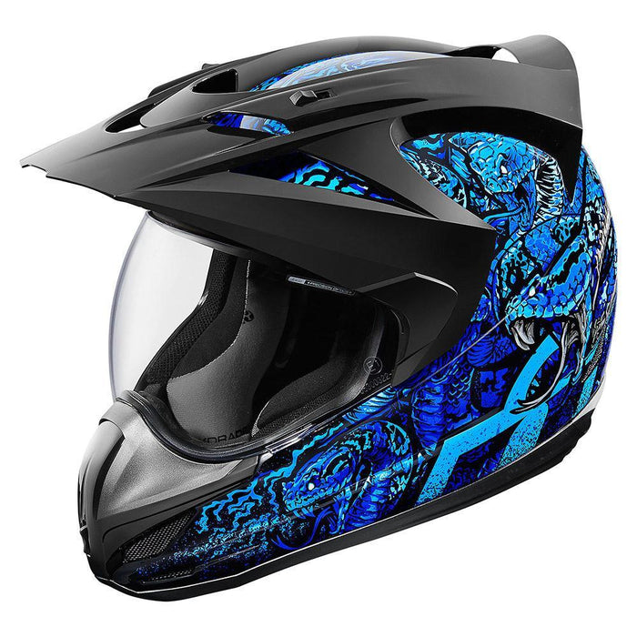 Icon Variant Cottonmouth Helmets Motorcycle Helmets Icon