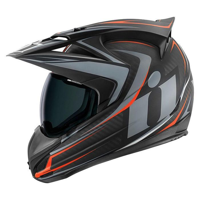 Icon Variant Raiden Helmets Motorcycle Helmets Icon Carbon XS