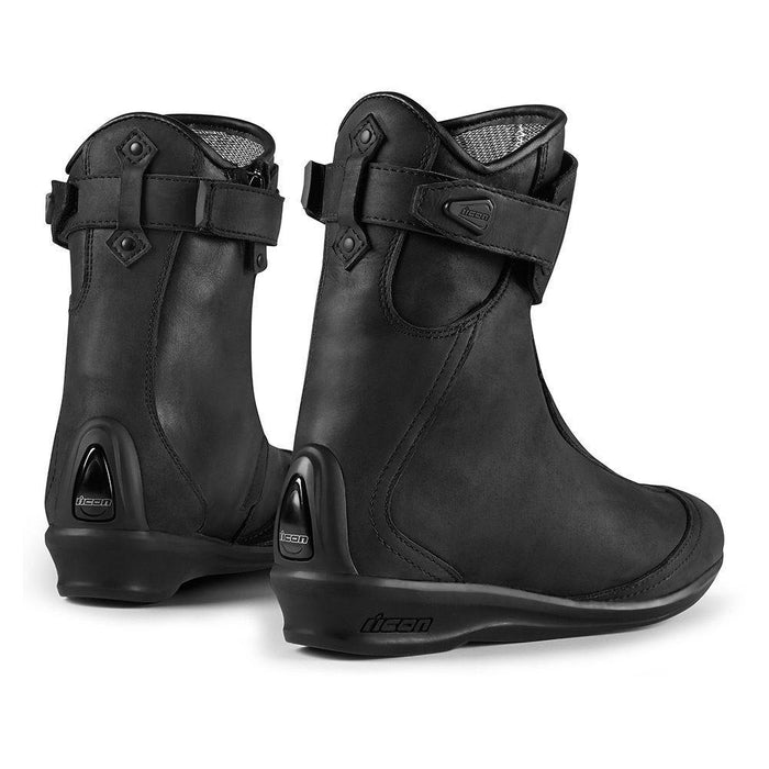 Icon Women's 1000 Eastside Waterproof Boots Women's Motorcycle Boots Icon