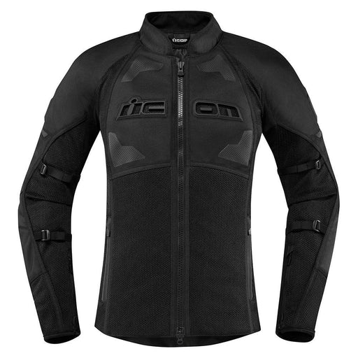 Icon Women's Contra 2 Jackets Women's Motorcycle Jackets Icon Stealth XS
