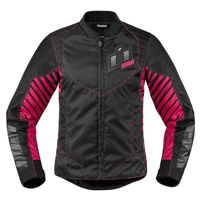 Icon Women's Wireform Jackets Women's Motorcycle Jackets Icon Pink XS