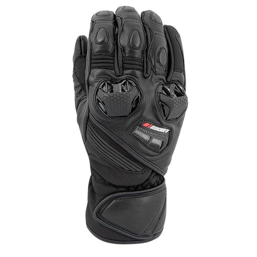JOE ROCKET Highside Leather/Textile Gloves Men's Motorcycle Gloves Joe Rocket Black S