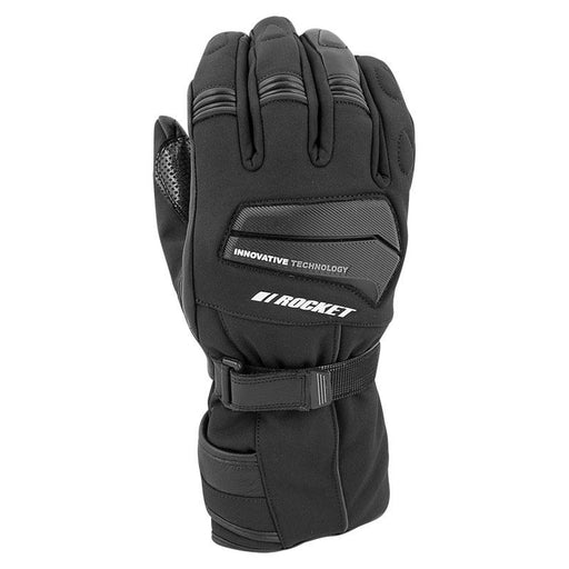 JOE ROCKET Men's Element Insulated Textile Gloves Men's Motorcycle Gloves Joe Rocket Black S