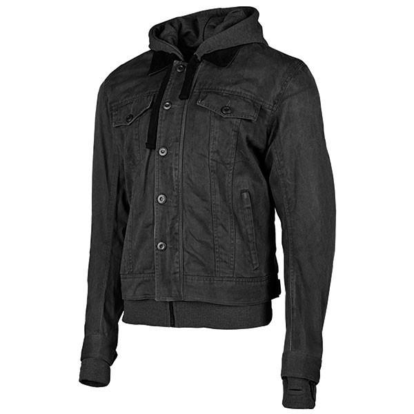 JOE ROCKET Men's Steel City Textile Jackets Men's Motorcycle Jackets Joe Rocket Black/Charcoal Small