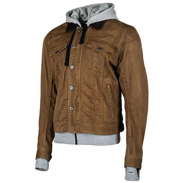 JOE ROCKET Men's Steel City Textile Jackets Men's Motorcycle Jackets Joe Rocket Brown/Gray Small