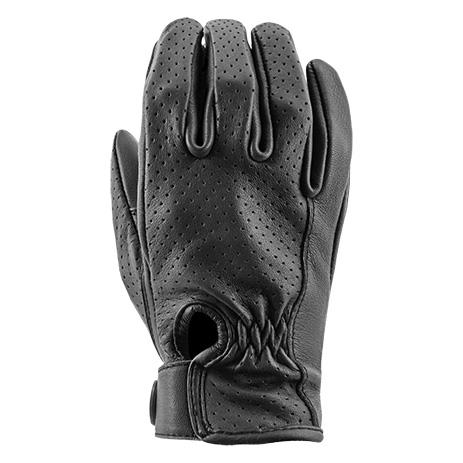 JOE ROCKET Women's 67 Deer Skin Leather Perforated Gloves Men's Motorcycle Gloves Joe Rocket
