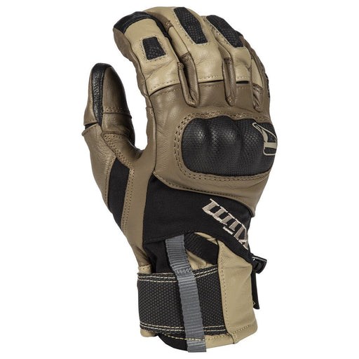 KLIM Adventure GTX Short Gloves - REDESIGNED! Men's Motorcycle Gloves Klim Tan S