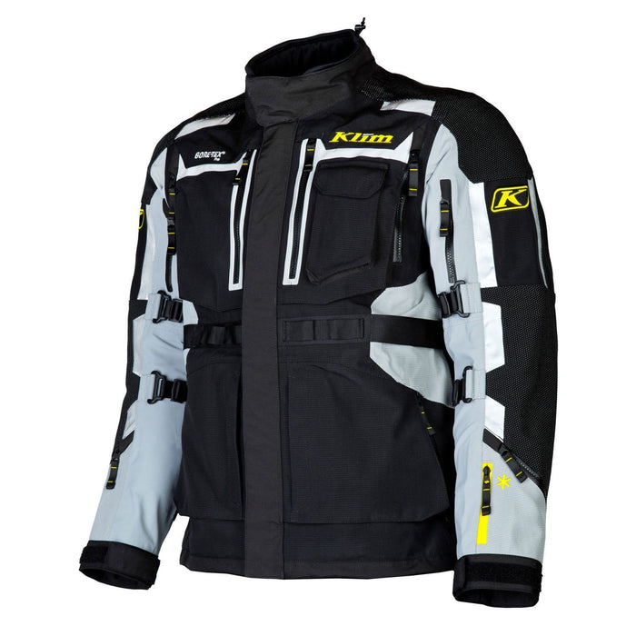 KLIM Adventure Rally Jacket in Gray Men's Motorcycle Jackets Klim