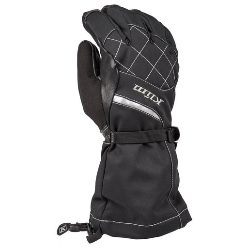 KLIM Allure Gloves Women's Snowmobile Gloves Klim Matte Black SM