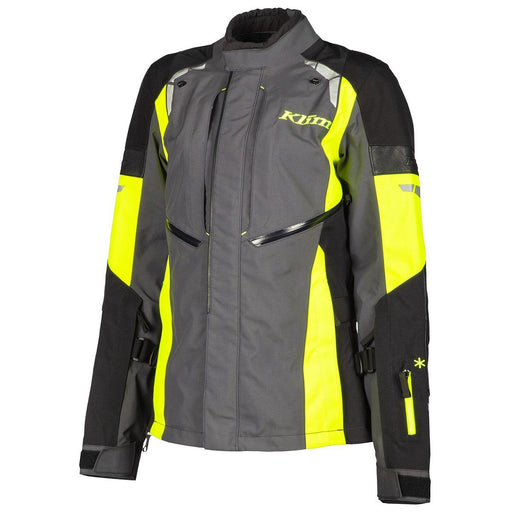 KLIM Altitude Jackets - REDESIGNED! Men's Motorcycle Jackets Klim Hi-Vis S