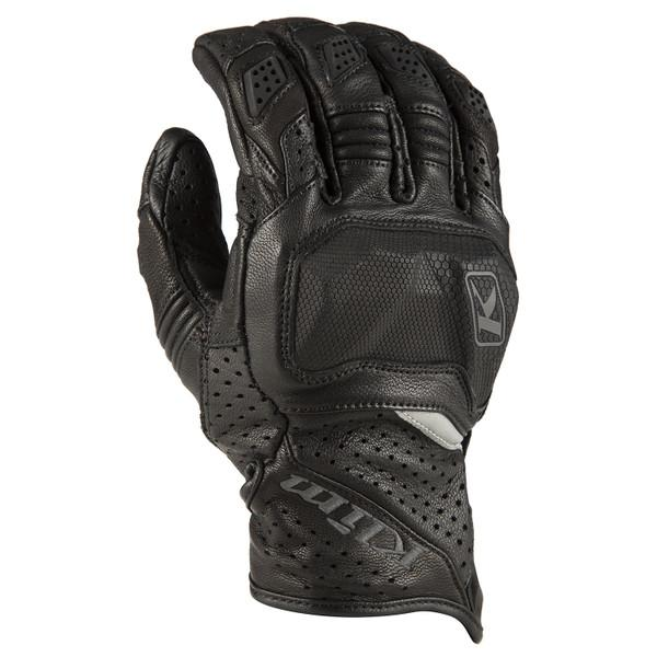 KLIM Badlands Aero Pro Short Gloves Men's Motorcycle Gloves Klim Black SM