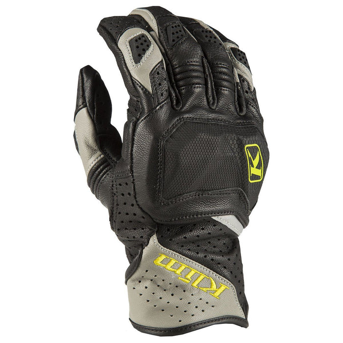 KLIM Badlands Aero Pro Short Gloves Men's Motorcycle Gloves Klim Gray SM