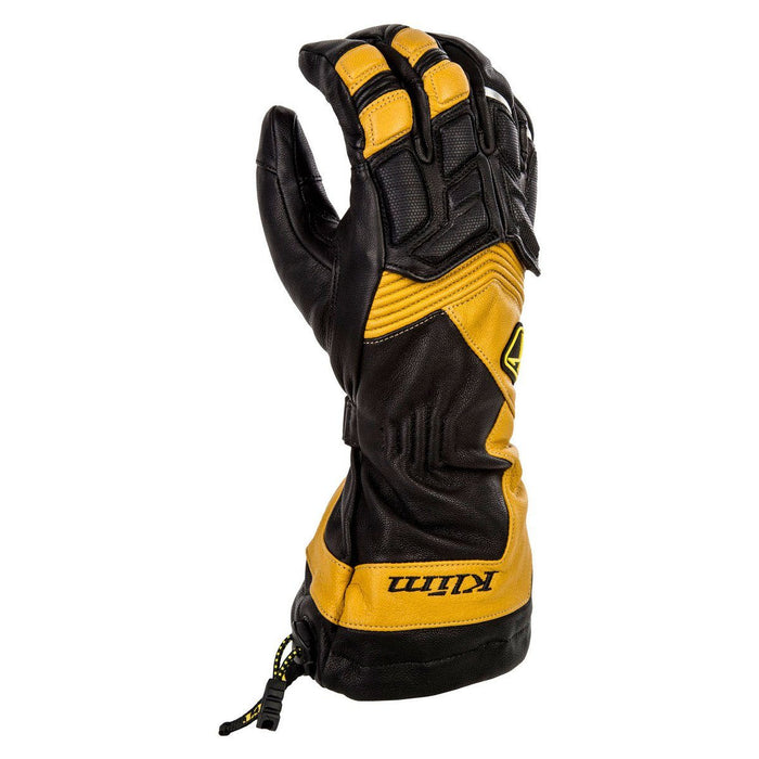 KLIM Elite Gloves Men's Snowmobile Gloves Klim Brown SM