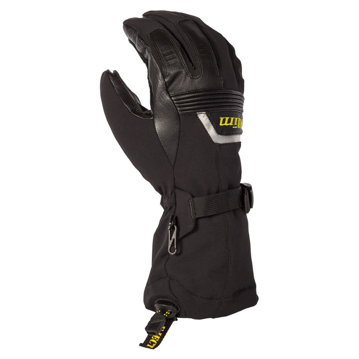 KLIM Fusion Gloves Men's Snowmobile Gloves Klim Black SM