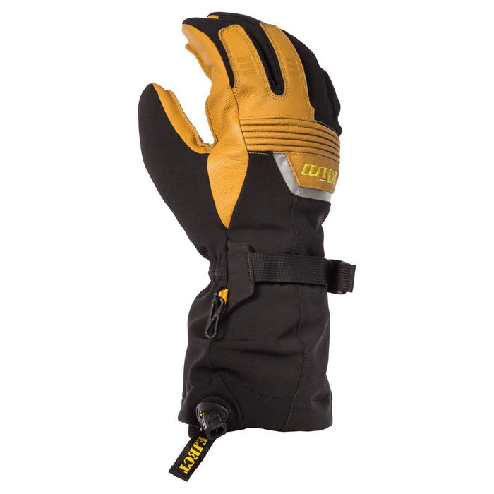 KLIM Fusion Gloves Men's Snowmobile Gloves Klim Brown MD