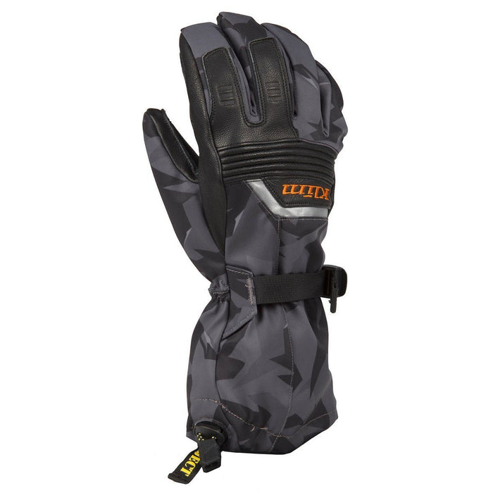 KLIM Fusion Gloves Men's Snowmobile Gloves Klim Camo Gray MD